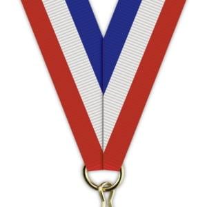 H012 300x300 - Medaljebånd Rød/Hvit/Blå