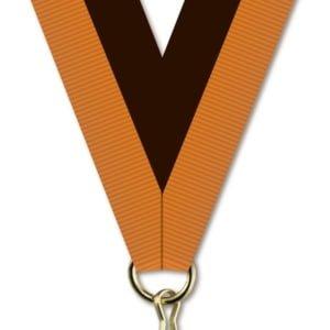 H016 300x300 - Medaljebånd Oransje/Sort