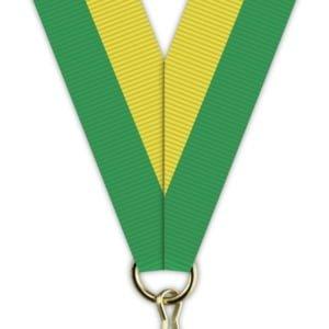 H018 300x300 - Medaljebånd Grønn/Gul