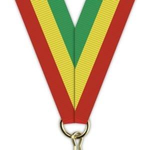 H019 300x300 - Medaljebånd Rød/Gul/Grønn