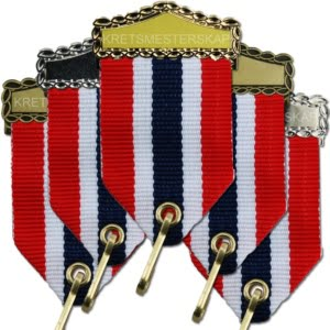 Agraffer - Korte medaljebånd