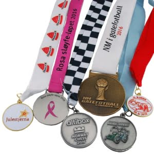 Spesialproduserte medaljer 16