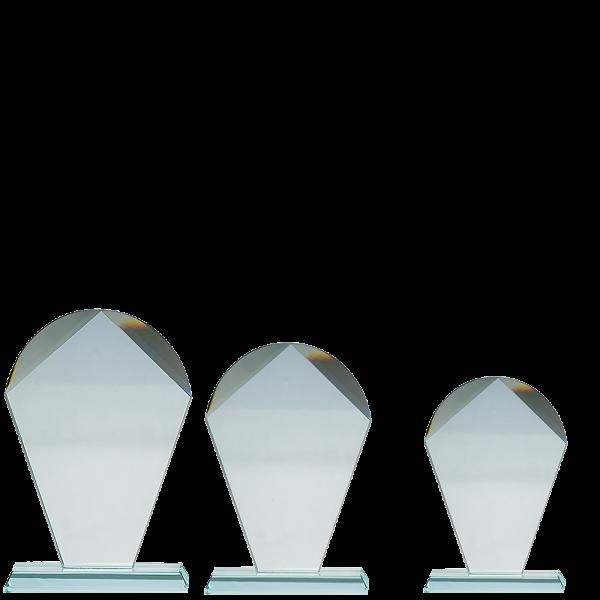 Plakett i krystall CR.10
