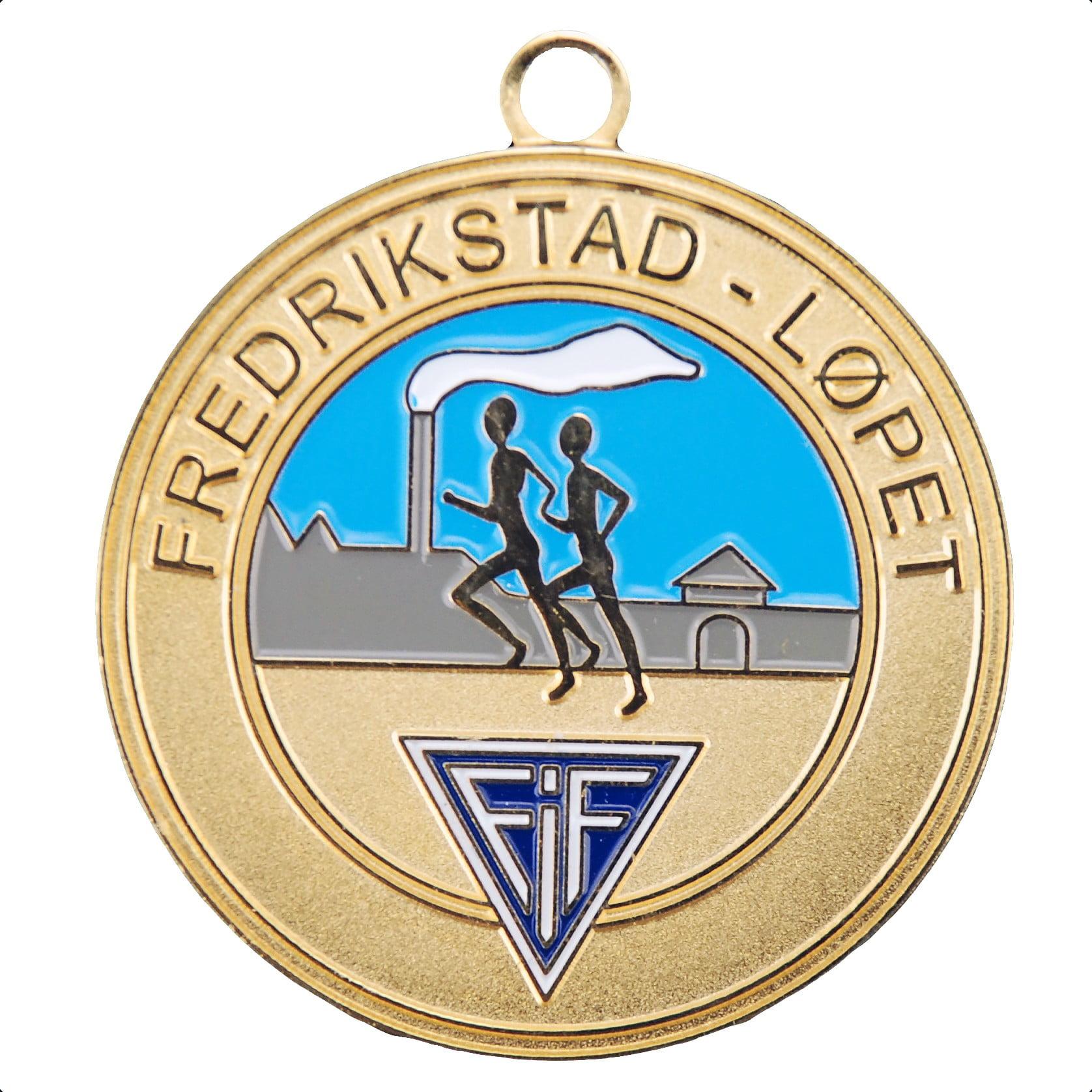 Spesial Fredrisktadlopet2 - Spesialproduserte medaljer