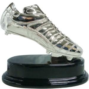 Statuett Fotballstøvel, Sølv