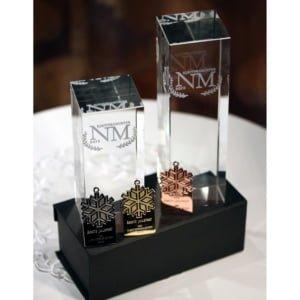 glassblokk med 3d gravering pa innsiden 300x300 - Eksklusive premier