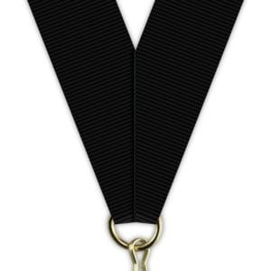 h20Sort 300x300 - Medaljebånd Sort