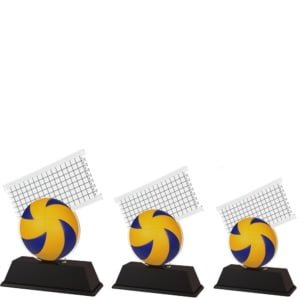 Akrylstatuett Volleyball