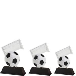 Akrystatuett Fotball