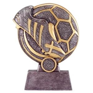 Resinstatuett - EW.M - Fotball (Kopi)