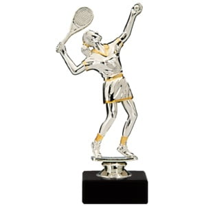 Statuett Tennis, Dame NDF61