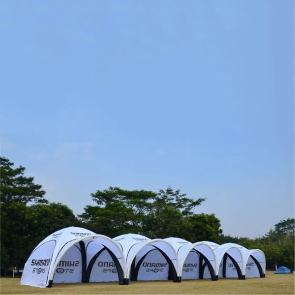 Oppblåsbart telt, Spider