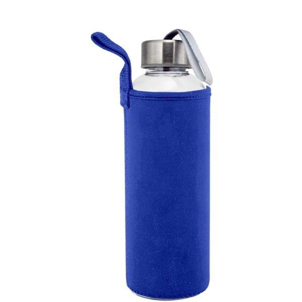 Plastflaske 550m Neopren Bla 600x600 - Drikkeflaske og isolerende lomme med motivtrykk