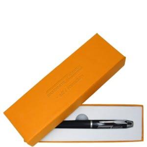 Penn i gaveeske 300x300 - Kulepenn med lasergravert logo i gaveeske