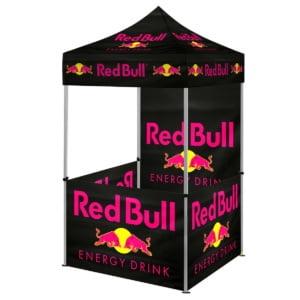 Pop Up Telt 1.5 300x300 - Telt Pop-Up 1,5x1,5m med fullfarge trykk