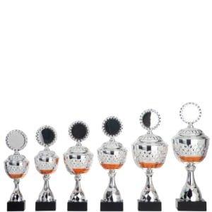HK131 300x300 - Pokal i sølv og orange HK.131