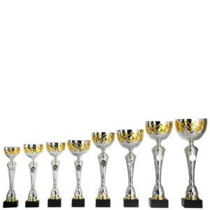 HK375 Alle 300x300 - Pokal i sølv med gulldetaljer - HK 375