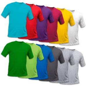 T shirt 300x300 - T-skjorte Voksen med fargetrykk