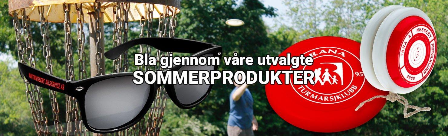 slider topp sommerprodukter2020 - Premier og Profilering